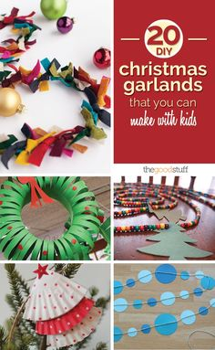 Are your kids feeling crafty this holiday season? Read our kid-friendly guide on how to make DIY Christmas garlands.