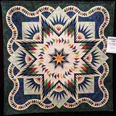 Glacier Star, Quiltworx.com, Made by Diana Vilas