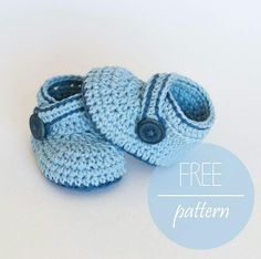 Blue whale bootees free pattern on cosbypattern.com