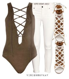 """""""Untitled #325"""" by kaythefrugalista ❤ liked on Polyvore featuring H&M and Aquazzura"""