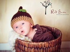 Acorn hat made to order by aokaydesigns on Etsy, $15.00