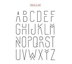 Imprimibles: 12 plantillas para practicar caligrafía o