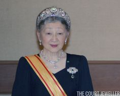 The Daily Diadem: The Imperial Chrysanthemum Tiara | The Court Jeweller