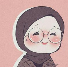 Cartoon Girl Images, Cute Cartoon Girl, Anime Girl Cute, Anime Art Girl, Cartoon Art, Islamic Cartoon, Anime Muslim, Hijab Cartoon, Anime Scenery Wallpaper