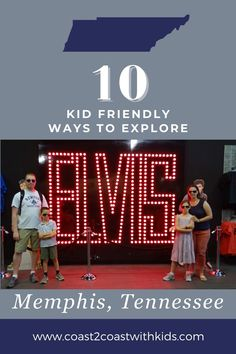 10 family friendly ways to explore Memphis, Tennessee Bucket List Destinations, Travel Destinations, Usa Travel, Travel Tips, Memphis Tennessee, Us National Parks, City Guides, Money Saving Tips, Where To Go