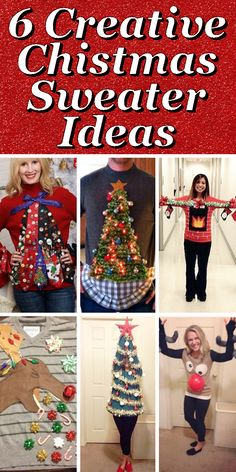 15 do it yourself ugly christmas sweaters ugliest christmas a blog about crafts organizing recipes free printables gardening home decor and all else diy related solutioingenieria Image collections