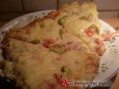 Ζύμη για πίτσα 2 My Favorite Food, Favorite Recipes, Greek Recipes, Cooking Recipes, Yummy Food, Chicken, Breads, Pizza, Cooker Recipes