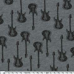 Molleton Guitares 20 x 140 cm