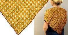 Här är din nya favorit – sticka spetssjalen med fina höstlöv på Diy And Crafts, Knit Crochet, Knitting, Land, Pattern, Cowls, Crochet Ideas, Crocheting, Inspiration