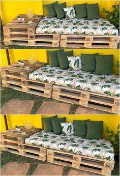 DIY backyard pallet projects, # DIY # Home & Garden # pallets . - DIY pallet projects in the backyard, # DIY - Pallet Garden Furniture, Diy Furniture Projects, Furniture Storage, Easy Projects, Pallets Garden, Furniture Makeover, Furniture Design, Repurposed Furniture, Furniture Plans