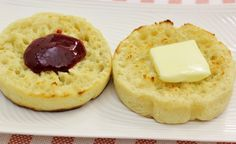 English Muffins- love the idea for making the baking rings out of fruit cans!