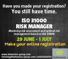 Mastering risk assessment and optimal risk management based on ISO 31000.