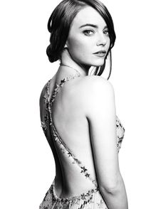 """goldenglobesBest Actress in a Motion Picture - Musical or Comedy, Emma Stone for """"La La Land"""". Photo by @mertalas and @macpiggott."""