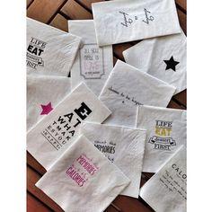 Treso tasarimi eglenceli peceteler Pazartesi'den itibaren Lunapark Shop, Galata'da #lunaparkshop #lunaparktasarim #turkishverymuch #galata #galatatower #serdariekrem #conceptstore #giftstore #designer #istanbul #shop #shopping #traditional #gift #handmade #bloggers #fashionbloggers #style #napkin#tissue#tresotasarim#fun#turkishdesigners