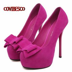 32.61$  Watch now - http://ai2wx.worlditems.win/all/product.php?id=1610012576 - Pumps,women new arrival high heels bowtie sweet shoes red bottoms wedding party shoes summer shoes pumps free shipping