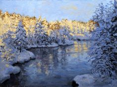 Tore JuellHøstmorgen ved elven