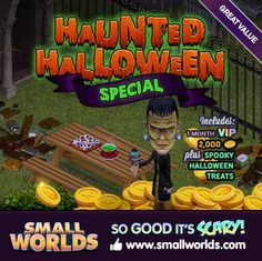 Get a great deal with our Haunted Halloween Special!