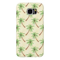 Abstract Rainbow Palm Tree Wood Phone Case  Samsung Galaxy S