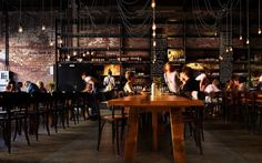 The best cafe, bar and restaurant interiors of the year: Shortlisted: best restaurant design  Bread in Common (WA) by Spaceagency.