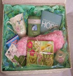 Gifts for Encouragement, Cancer, Get Well, Sympathy, After Surgery, Unique Gift Baskets.