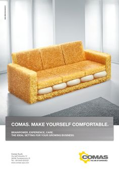 Comas - Are they selling comfort, furniture, or just making you long for Twinkies?