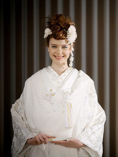 Kimono Fashion, Wedding Hairstyles, Ruffle Blouse, Victorian, Tops, Dresses, Women, Weddings, Vestidos