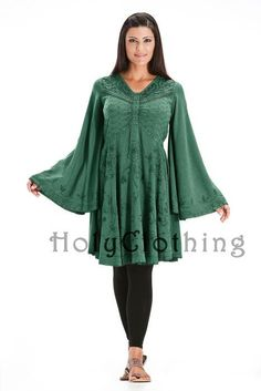 Ariana Gothic Bell Sleeve Top from Holy Clothing: http://holyclothing.com/index.php/ariana-gothic-bell-sleeve-victorian-empire-butterfly-tunic-top.html From $44.99. Repins are always appreciated :) #holyclothing #fashion