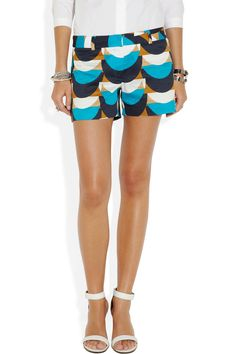 Milly|Dickies printed cotton shorts|NET-A-PORTER.COM