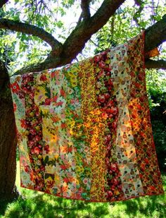 Quilt in sunshine