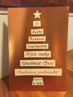 Meidän joulun 2014 joulukortti