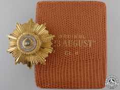 A Romanian Order of the 23 of August in Gold & Diamonds Appreciation, Diamonds, Military, Gold, Diamond, Military Man, Army, Yellow