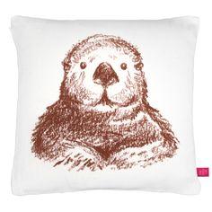 Emma Reynolds Illustration: Sea Otter Pillow Competition!
