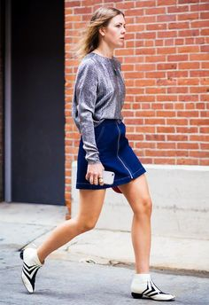 The Best Shoes to Wear With a Miniskirt via @WhoWhatWearUK