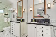 Alcazar Court - Five 1924 Bungalows with modern and vintage touches. Come Stay With Us - Everyone is Welcome Here! www.alcazarcourt.com  #airbnb #alcazarcourt #weloveithere #SanDiego #California   Spa Bathroom