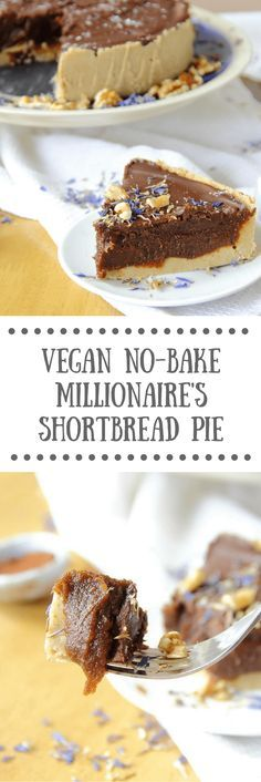 No-Bake Vegan Millionaire's Shortbread Recipe