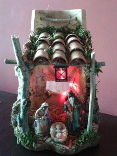 Christmas Clay, Christmas Nativity, Christmas Projects, All Things Christmas, Christmas Lights, Christmas Centerpieces, Xmas Decorations, Xmas Crafts, Diy Crafts To Sell