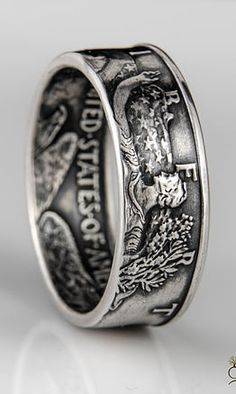 Please stop and browse through our collection of some of our favorite coin rings!