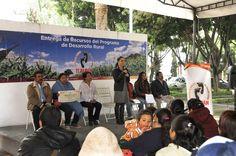 Destinan 2.2 millones de pesos  para 156 productores agropecuarios de Tlalpan