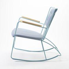 """Schaukelstuhl """"Rocker Antelope"""" by RACE Furniture, jetzt bei bamarang. Design Furniture, Chair Design, Cool Furniture, Modern Furniture, Deco Furniture, Antique Furniture, Design Design, Painted Furniture, Take A Seat"""