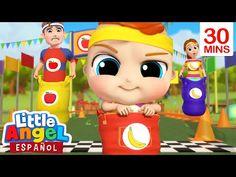 ¿Quién ganará la carrera, Manzanas o bananas?🍎🍌   Canción Infantil   Little Angel Español - YouTube Bingo, Luigi, Mario, Family Guy, Youtube, Boys, Fictional Characters, Canada, Crochet