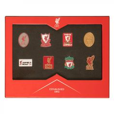 LFC Emblem Badge Set | Liverpool FC Official Store