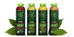 Garden of Flavor Cold-Pressed Energy — The Dieline - Branding & Packaging