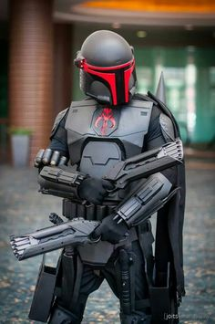 SR71 Habu Fett Original Cosplay by Luis Linares, photo by Joits Photography