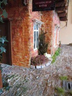 #Mezzanottis#Puppenhaus#dollhouse (108) Diorama, House, Dioramas