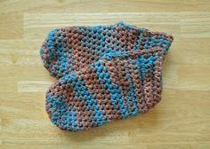 Bootie Slippers Crochet Pattern