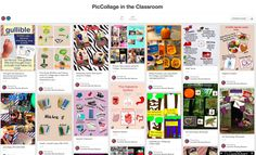 20+ Examples of How Pinterest Can Be Used in the Classroom:  https://www.pinterest.com/cjbuckybeaver/piccollage-in-the-classroom/
