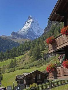 Zermatt, Canton Valais, Swiss Alps, Switzerland, Europe Photographic Print by Angelo Cavalli Zermatt, La Provence France, Beautiful World, Beautiful Places, Places To Travel, Places To Visit, Travel Destinations, Photos Voyages, Swiss Alps
