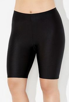 Try out the Chlorine Resistant Lycra Xtra Life Black Bike Short and more at Swimsuits for All! From stylish tankinis to classic bikinis, we've got what you're looking for. Swimsuits For All, Plus Size Swimsuits, Women Swimsuits, Plunging One Piece Swimsuit, Black One Piece Swimsuit, Swim Bottoms, Swim Dress, Bathing Suits, Bike