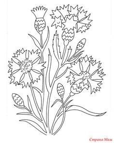flower garden coloring pages from Flowers Coloring Pages Printable. Flowers become great demanded object for most people in the world. Children, teenagers, or adult really like them. The flower's presence are alway. Printable Flower Coloring Pages, Garden Coloring Pages, Pattern Coloring Pages, Adult Coloring Pages, Coloring Books, Colorful Garden, Colorful Flowers, Landscape Art Quilts, Animal Skeletons