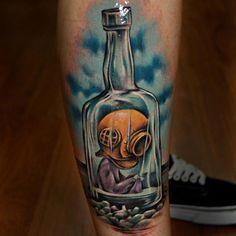 "Shaun Tan's The Red Tree ""Nobody Understands"" Tattoo Artist: Benjamin Laukis (11/16/12)"
